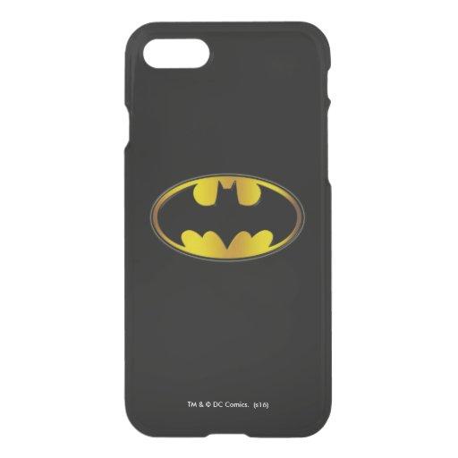 Batman Symbol | Oval Gradient Logo iPhone SE/8/7 Case