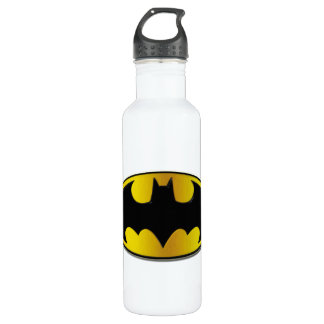 Batman Symbol | Oval Gradient Logo Water Bottle