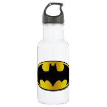 Batman Symbol | Oval Gradient Logo Water Bottle