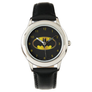 Batman Symbol | Oval Gradient Logo Wristwatch