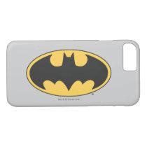 Batman Symbol | Oval Logo 2 iPhone 8/7 Case