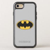 Batman Symbol | Oval Logo 2 OtterBox Symmetry iPhone SE/8/7 Case
