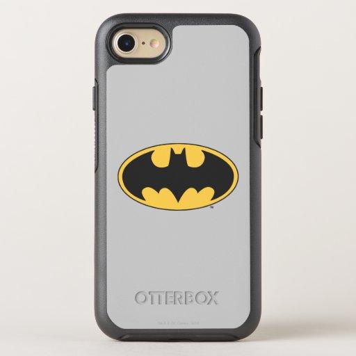 Batman Symbol | Oval Logo 2 OtterBox Symmetry iPhone 8/7 Case