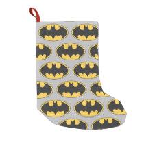 Batman Symbol | Oval Logo 2 Small Christmas Stocking