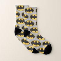 Batman Symbol | Oval Logo 2 Socks
