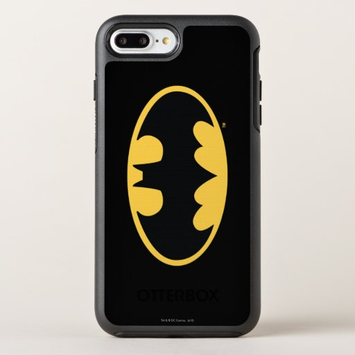 Batman Symbol | Oval Logo 3 OtterBox Symmetry iPhone 8 Plus/7 Plus Case