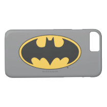 Batman Symbol | Oval Logo 4 iPhone 8/7 Case