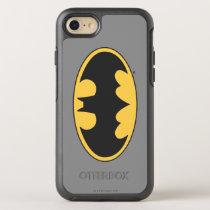 Batman Symbol | Oval Logo 4 OtterBox Symmetry iPhone SE/8/7 Case