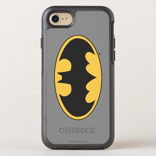 Batman Symbol | Oval Logo 4 OtterBox Symmetry iPhone 8/7 Case