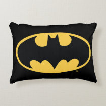 Batman Symbol | Oval Logo Accent Pillow