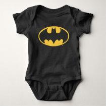 Batman Symbol | Oval Logo Baby Bodysuit