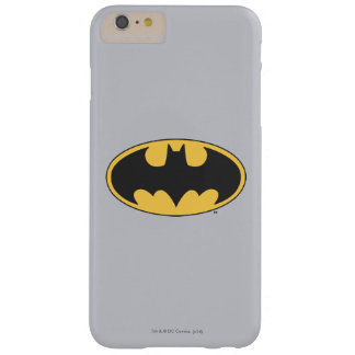 Batman Symbol | Oval Logo Barely There iPhone 6 Plus Case