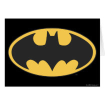 Batman Symbol | Oval Logo Card