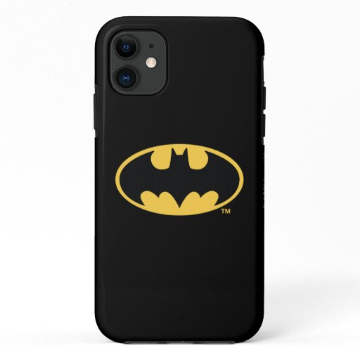 Batman Symbol | Oval Logo iPhone 11 Case