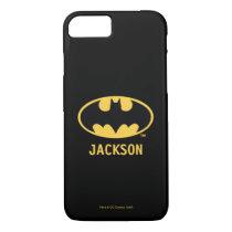 Batman Symbol | Oval Logo iPhone 8/7 Case