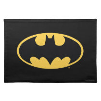 Batman Symbol | Oval Logo Cloth Placemat