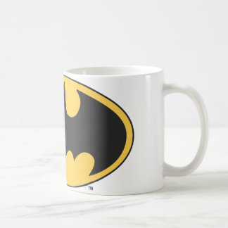 Batman Symbol | Oval Logo Coffee Mug