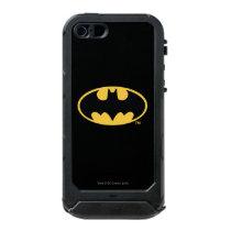 Batman Symbol | Oval Logo Waterproof Case For iPhone SE/5/5s