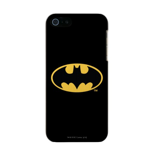 Batman Symbol | Oval Logo Metallic iPhone SE/5/5s Case