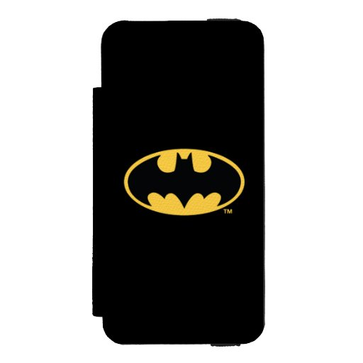 Batman Symbol | Oval Logo Wallet Case For iPhone SE/5/5s