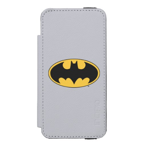 Batman Symbol | Oval Logo iPhone SE/5/5s Wallet Case