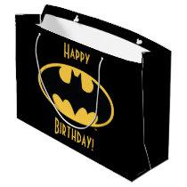 Batman Symbol | Oval Logo Large Gift Bag