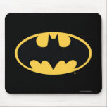 "Batman Symbol | Oval Logo Mouse Pad<br><div class=""desc"">Batman Urban Legends Style Bat Logo 