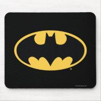 Batman Symbol   Oval Logo Mouse Pad
