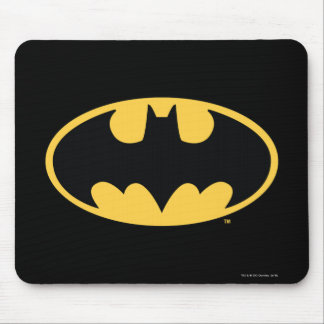 Batman Symbol | Oval Logo Mouse Pad