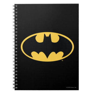 Batman Symbol | Oval Logo Notebook