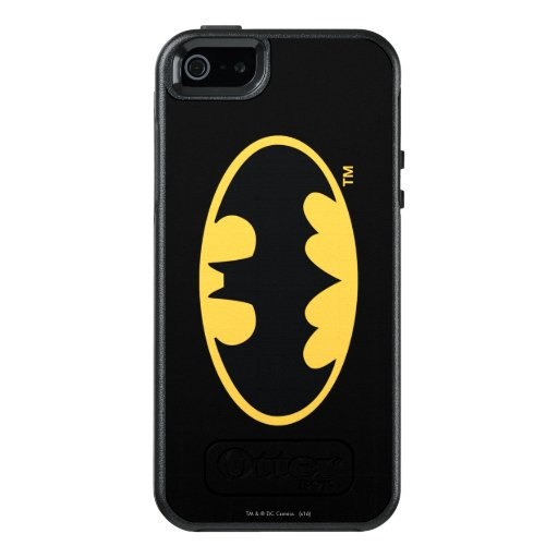 Batman Symbol   Oval Logo OtterBox iPhone 5/5s/SE Case