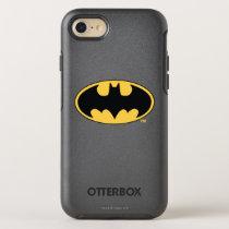 Batman Symbol | Oval Logo OtterBox Symmetry iPhone SE/8/7 Case