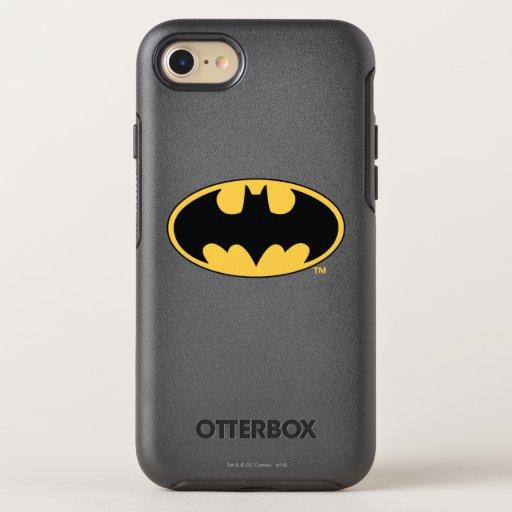 Batman Symbol | Oval Logo OtterBox Symmetry iPhone 8/7 Case