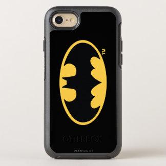 Batman Symbol   Oval Logo OtterBox Symmetry iPhone 8/7 Case