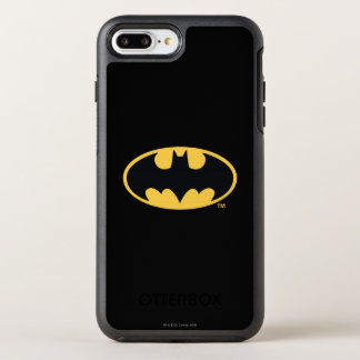 Batman Symbol | Oval Logo OtterBox Symmetry iPhone 8 Plus/7 Plus Case