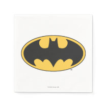 Batman Symbol | Oval Logo Paper Napkin