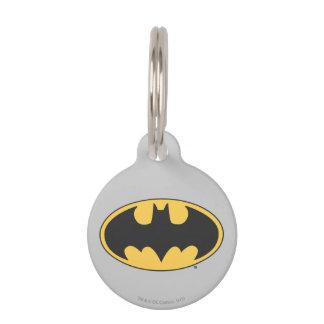 Batman Symbol | Oval Logo Pet ID Tag