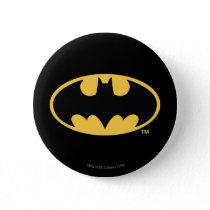 Batman Symbol | Oval Logo Pinback Button