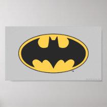 Batman Symbol | Oval Logo Poster