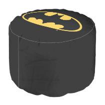 Batman Symbol | Oval Logo Pouf