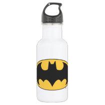 Batman Symbol | Oval Logo Stainless Steel Water Bottle