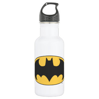 Batman Symbol | Oval Logo Stainless Steel Water Bottle