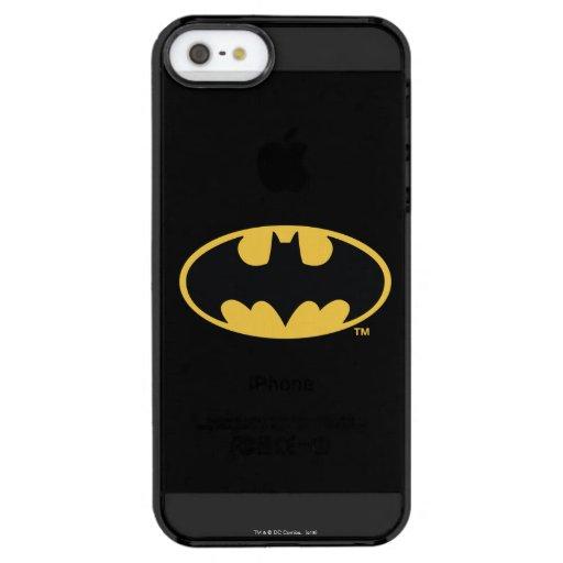 Batman Symbol | Oval Logo Clear iPhone SE/5/5s Case