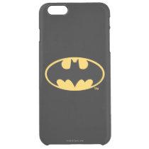 Batman Symbol | Oval Logo Clear iPhone 6 Plus Case