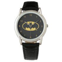 Batman Symbol | Oval Logo Wrist Watch