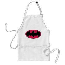 batman, batman logo, batman symbol, batman emblem, dark night, bat man, Apron with custom graphic design