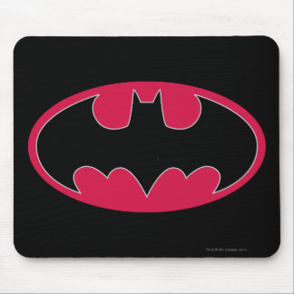 Batman Symbol | Red Black Logo Mouse Pad