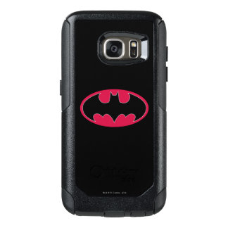 Batman Symbol | Red Black Logo OtterBox Samsung Galaxy S7 Case