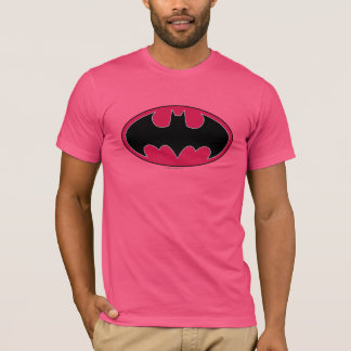 Batman Symbol | Red Black Logo T-Shirt