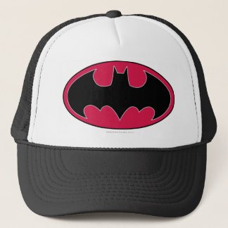 Batman Symbol | Red Black Logo Trucker Hat